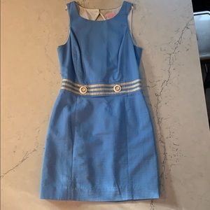 Lilly Pulitzer baby blue shift dress